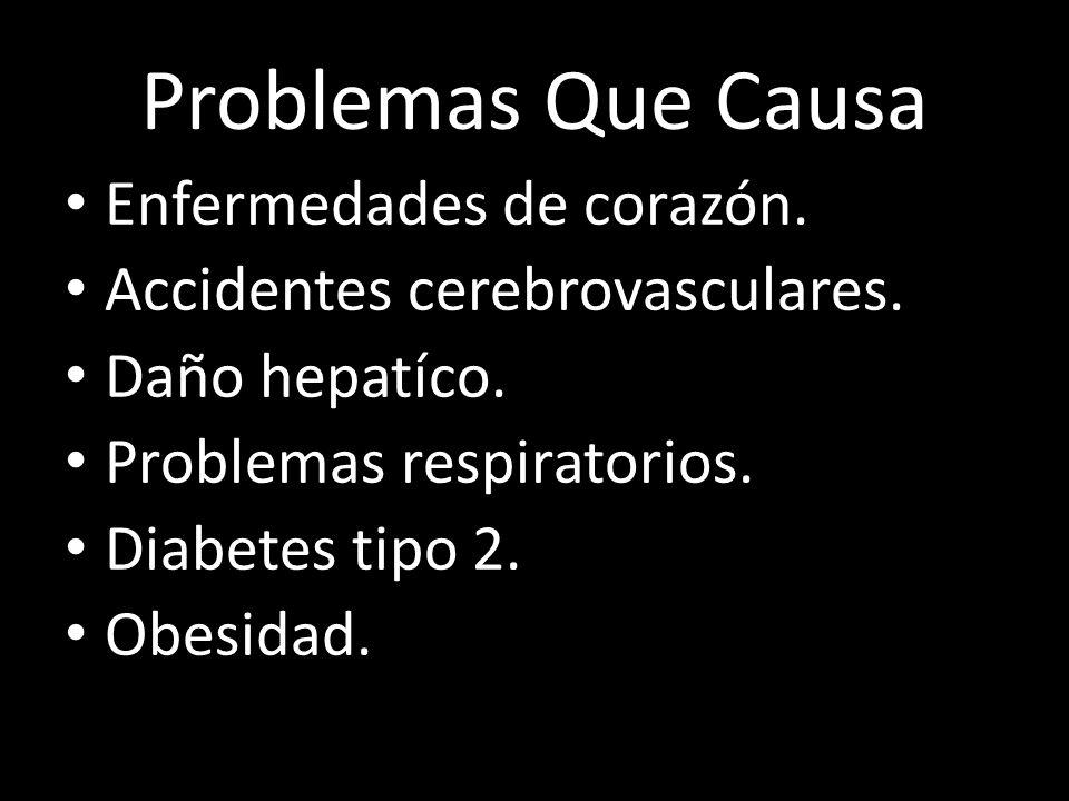 Problemas Que Causa Enfermedades de corazón.