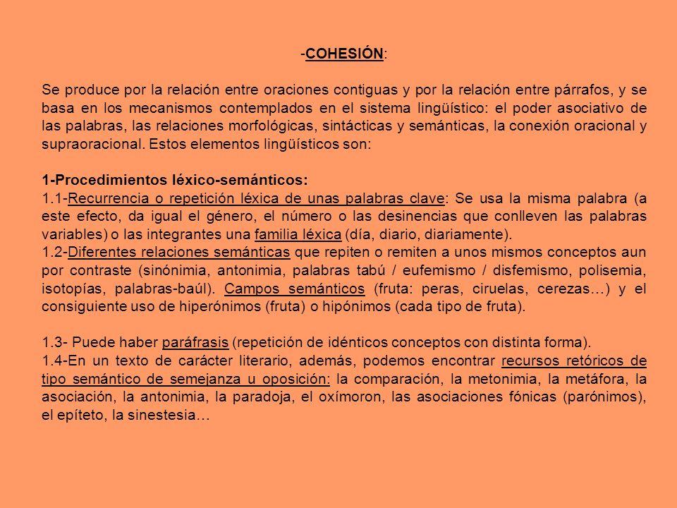 -COHESIÓN: