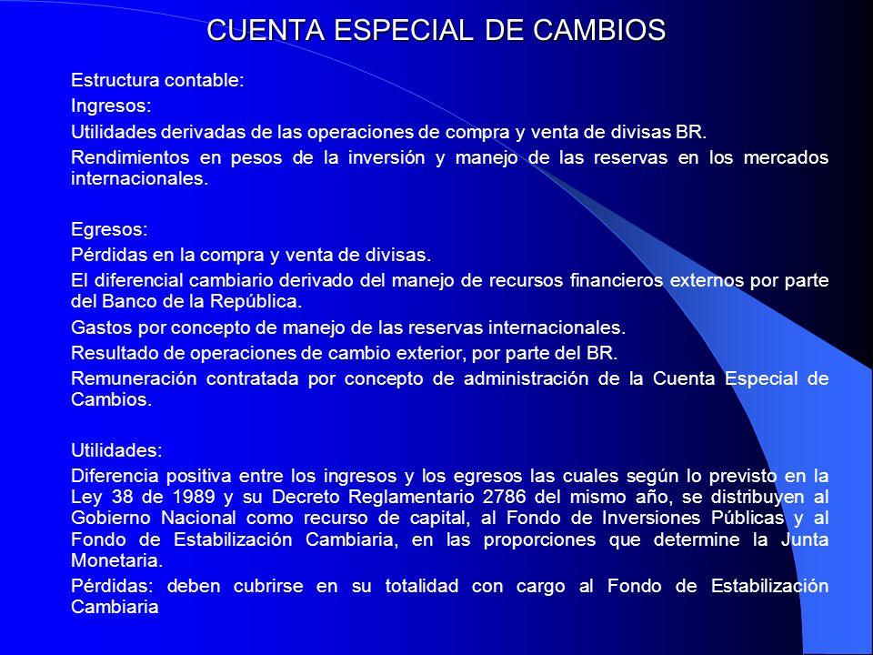 CUENTA ESPECIAL DE CAMBIOS