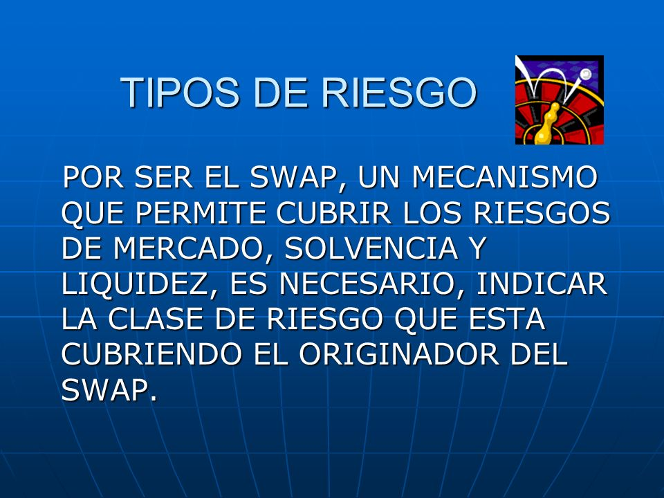 TIPOS DE RIESGO
