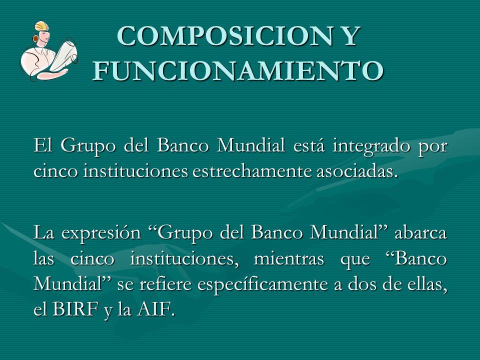 COMPOSICION Y FUNCIONAMIENTO