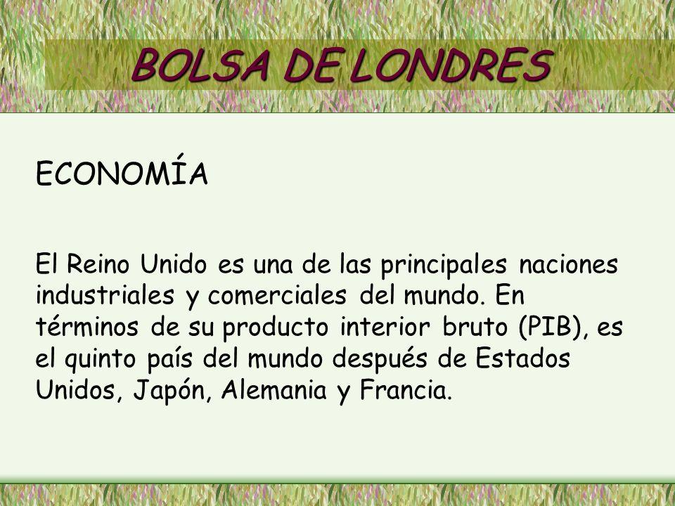 BOLSA DE LONDRES ECONOMÍA