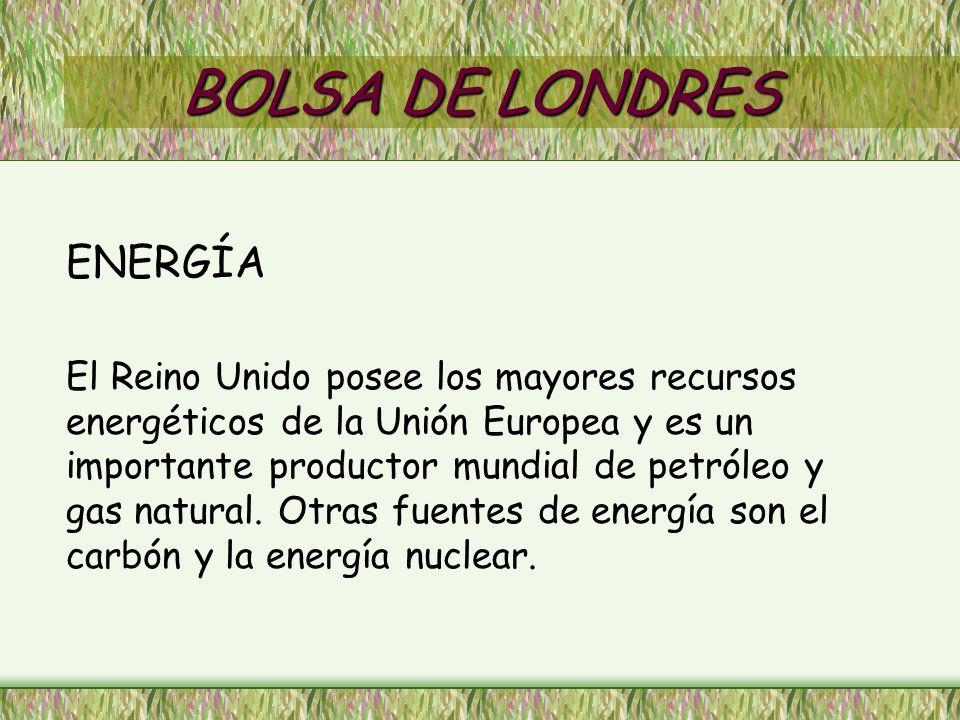 BOLSA DE LONDRES ENERGÍA