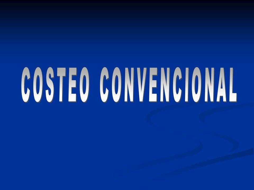 COSTEO CONVENCIONAL