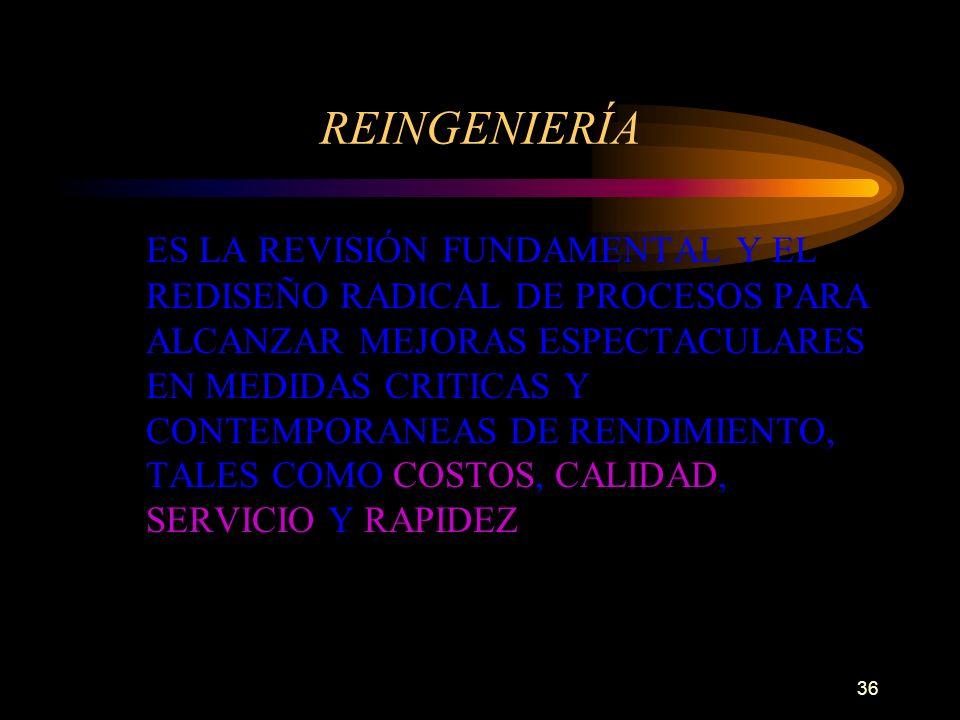 REINGENIERÍA
