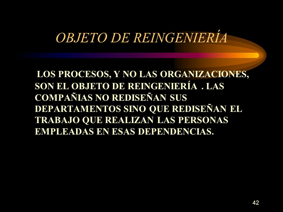 OBJETO DE REINGENIERÍA