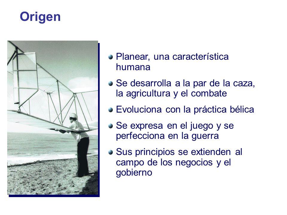 Origen Planear, una característica humana
