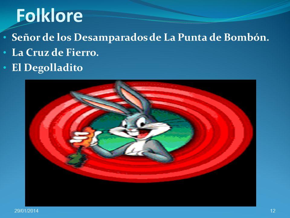 Folklore Señor de los Desamparados de La Punta de Bombón.