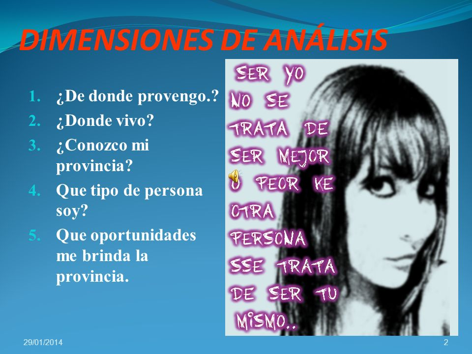 DIMENSIONES DE ANÁLISIS