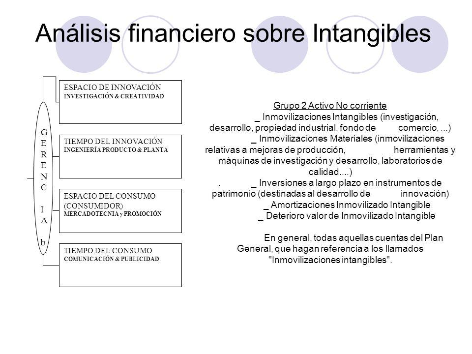 Análisis financiero sobre Intangibles