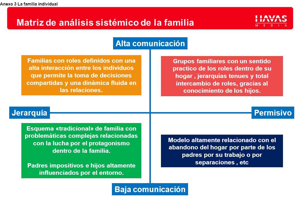 Matriz de análisis sistémico de la familia