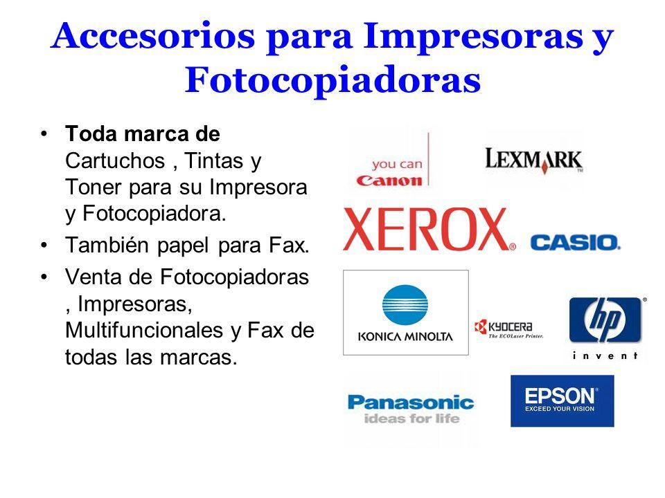 Accesorios para Impresoras y Fotocopiadoras