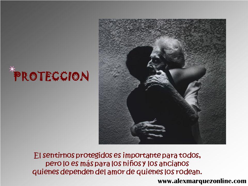 PROTECCION El sentirnos protegidos es importante para todos,