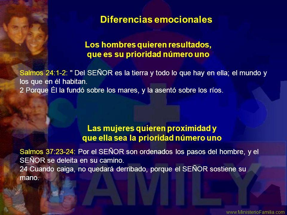 Diferencias emocionales