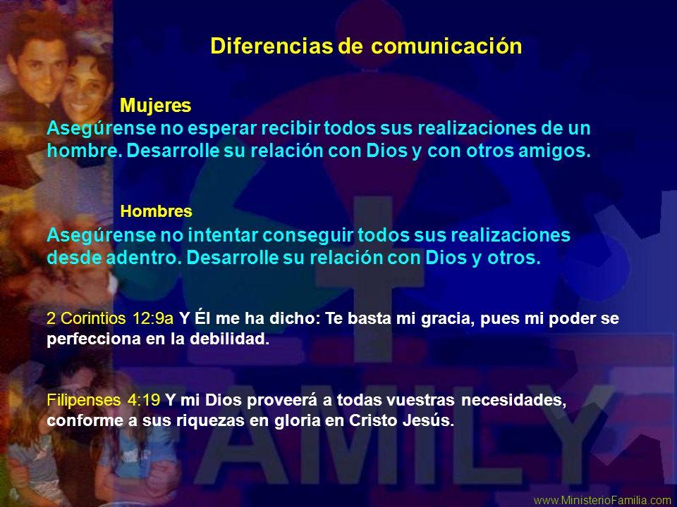 Diferencias de comunicación