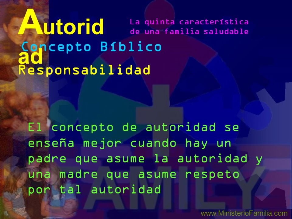 Autoridad Concepto Bíblico Responsabilidad