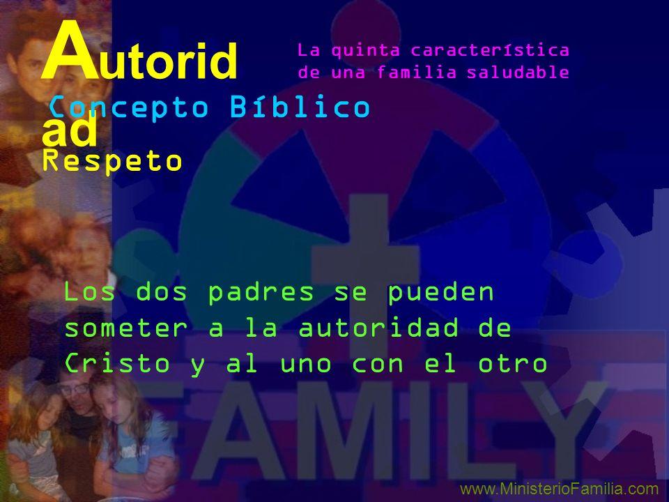 Autoridad Concepto Bíblico Respeto