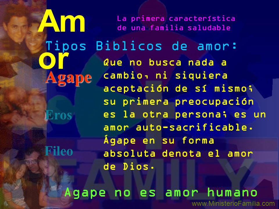 Amor Agape Tipos Biblicos de amor: Eros Fileo Agape no es amor humano