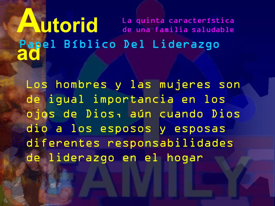 Autoridad Papel Bíblico Del Liderazgo