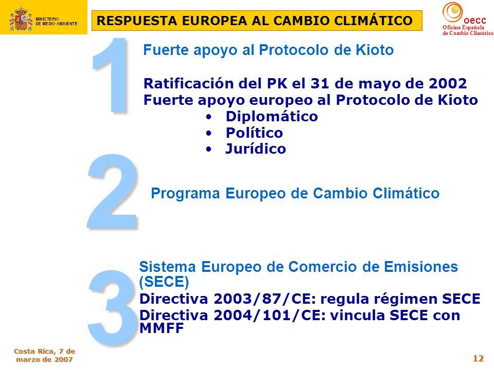 RESPUESTA EUROPEA AL CAMBIO CLIMÁTICO
