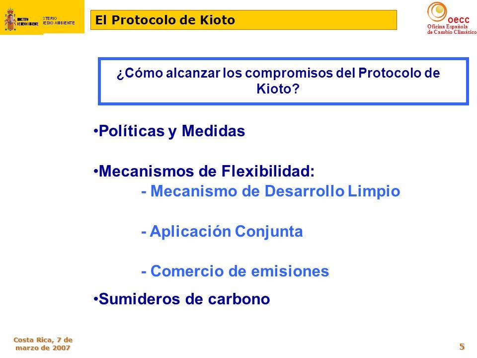 ¿Cómo alcanzar los compromisos del Protocolo de Kioto