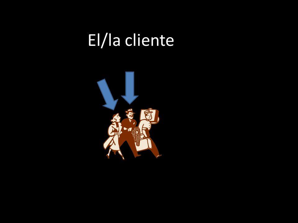 El/la cliente