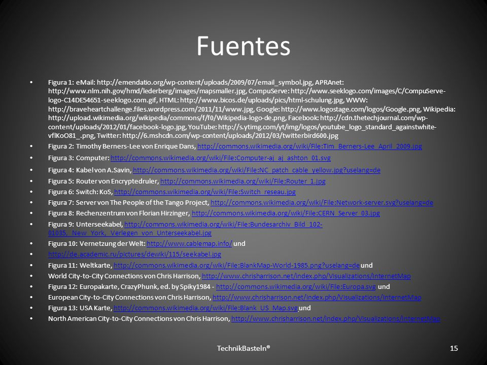 Fuentes TechnikBasteln®