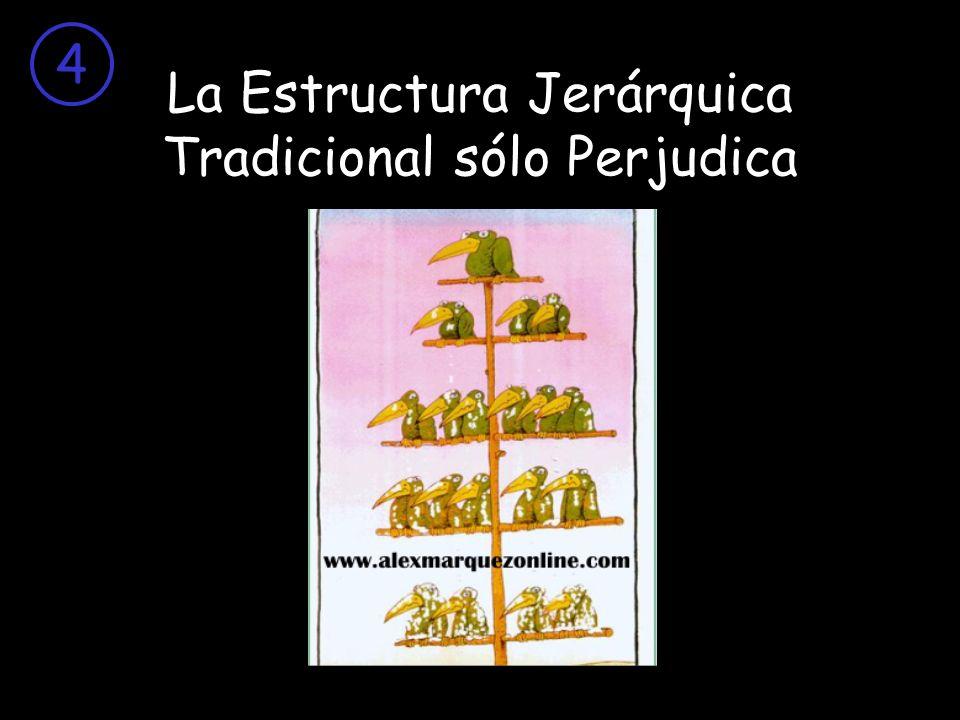 La Estructura Jerárquica Tradicional sólo Perjudica