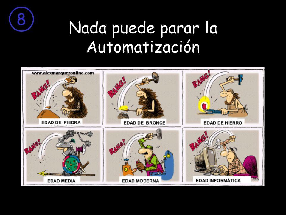 Nada puede parar la Automatización