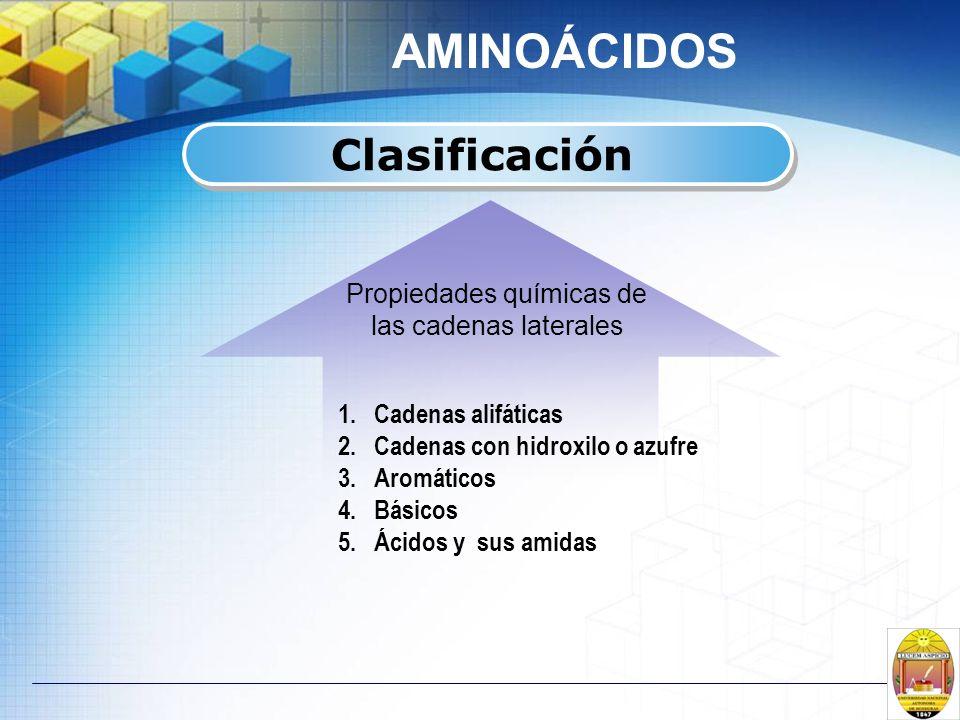 Propiedades químicas de