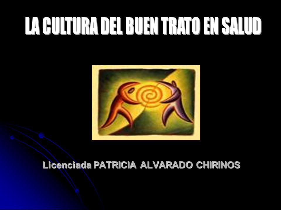 Licenciada PATRICIA ALVARADO CHIRINOS