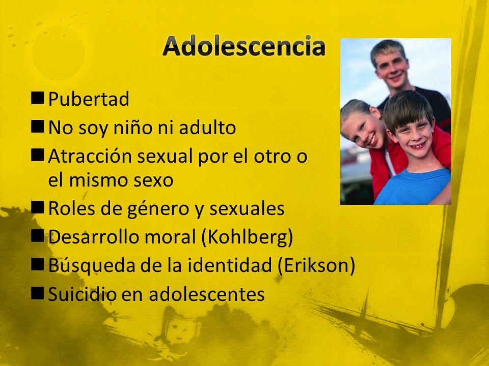 Adolescencia Pubertad No soy niño ni adulto