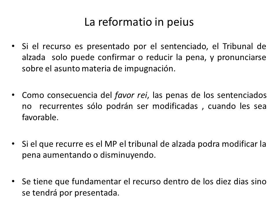 La reformatio in peius