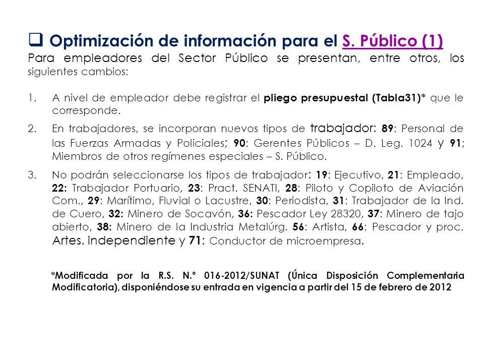 Optimización de información para el S. Público (1)