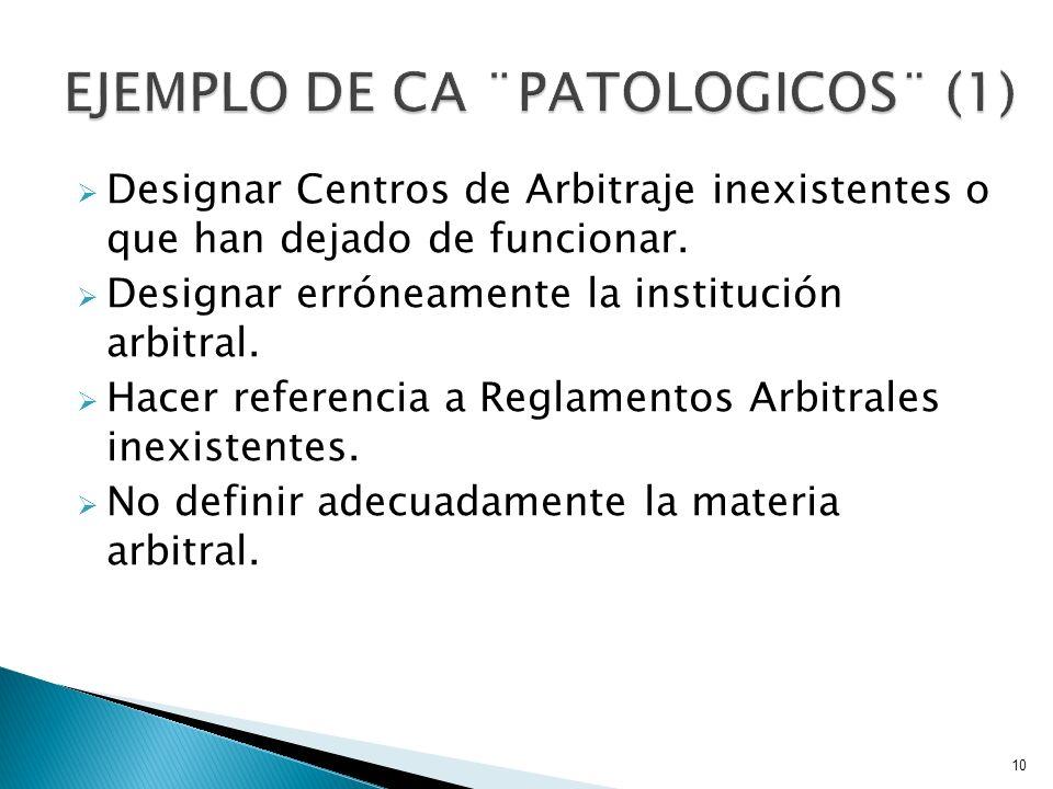 EJEMPLO DE CA ¨PATOLOGICOS¨ (1)
