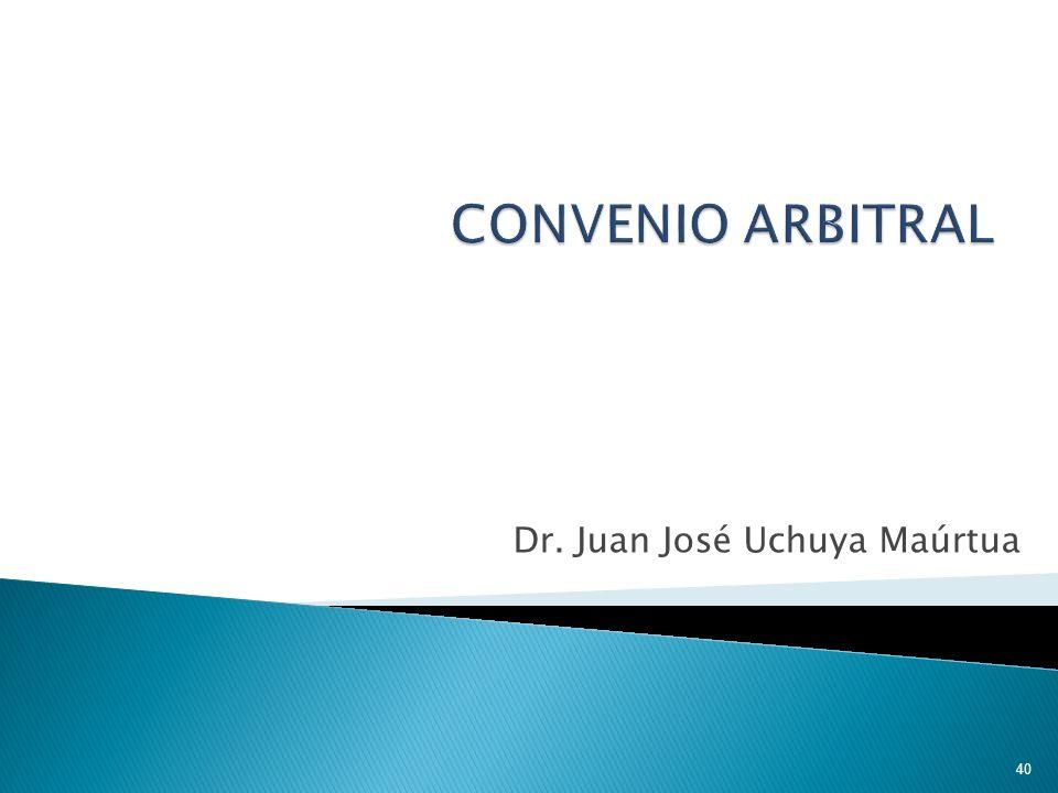 Dr. Juan José Uchuya Maúrtua