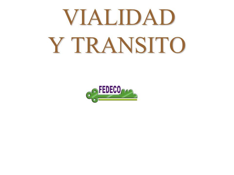 VIALIDAD Y TRANSITO