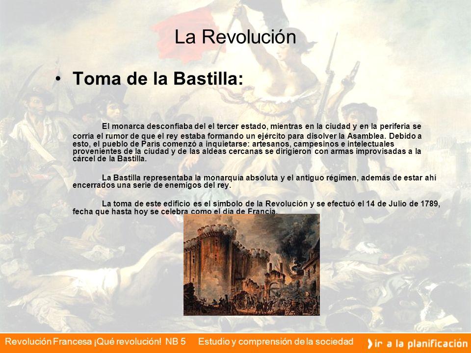 La Revolución Toma de la Bastilla: