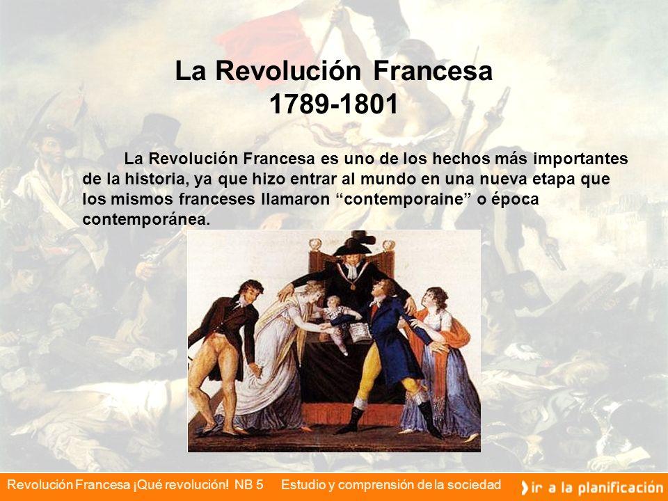 La Revolución Francesa 1789-1801