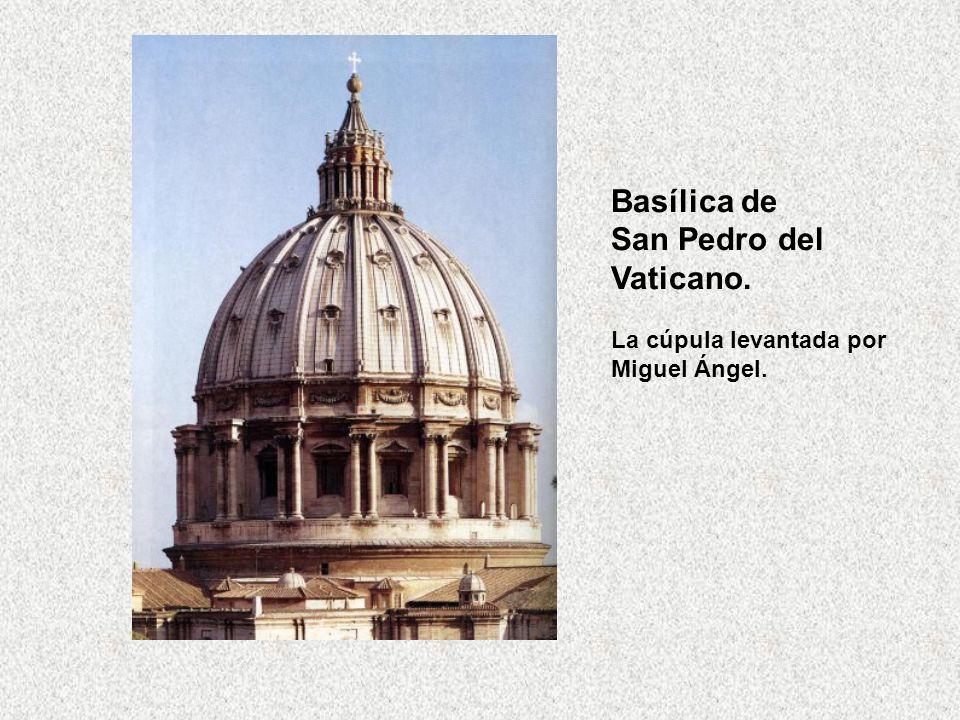 Basílica de San Pedro del Vaticano.