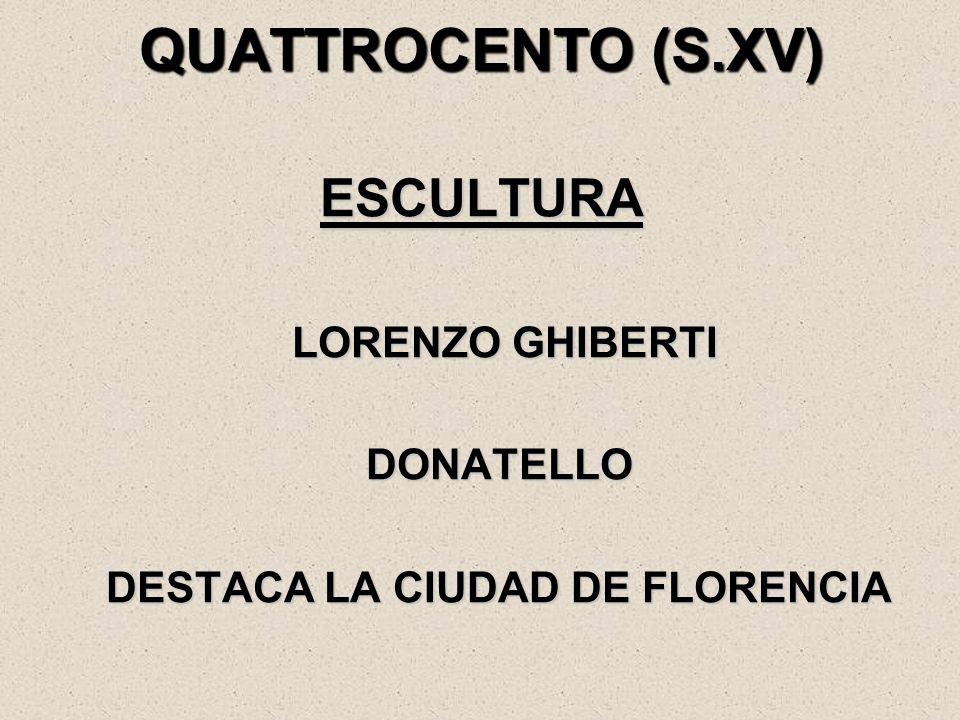 DESTACA LA CIUDAD DE FLORENCIA