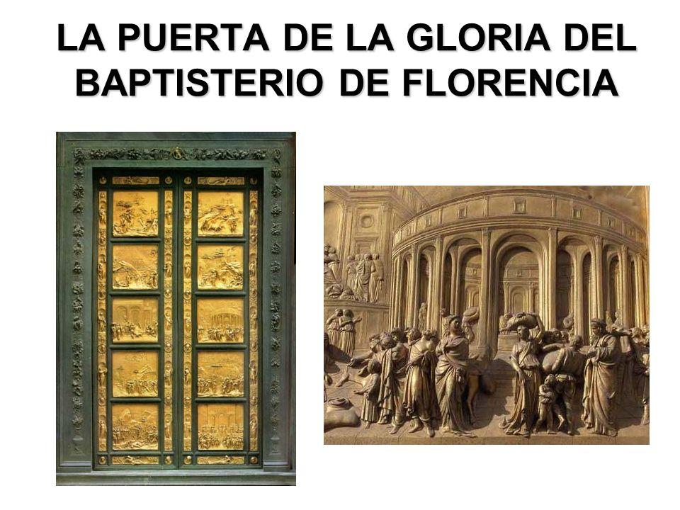 LA PUERTA DE LA GLORIA DEL BAPTISTERIO DE FLORENCIA