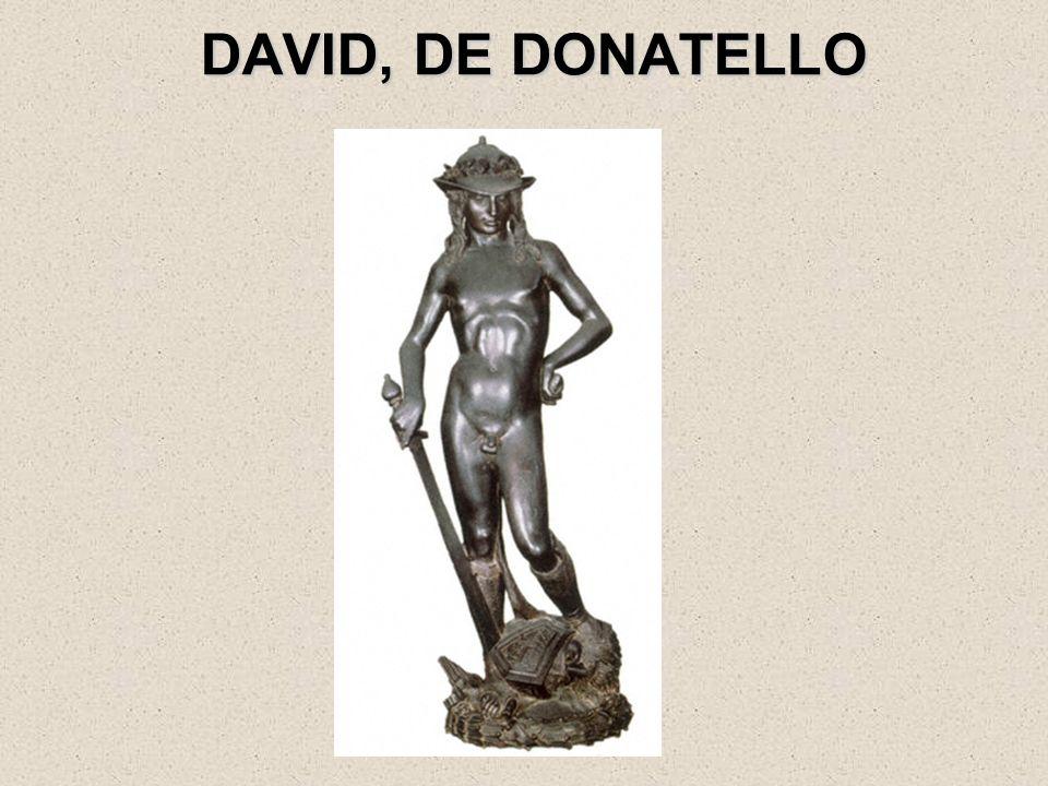 DAVID, DE DONATELLO