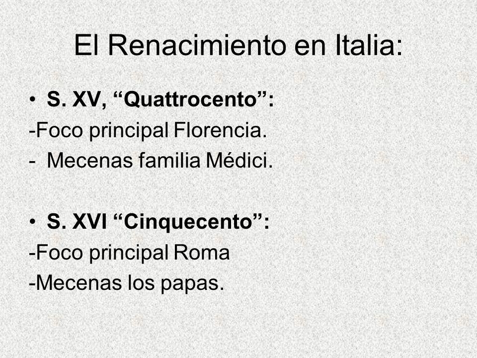 El Renacimiento en Italia: