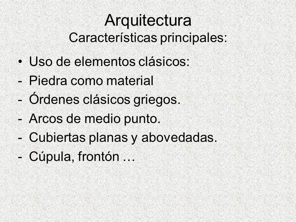 Arquitectura Características principales: