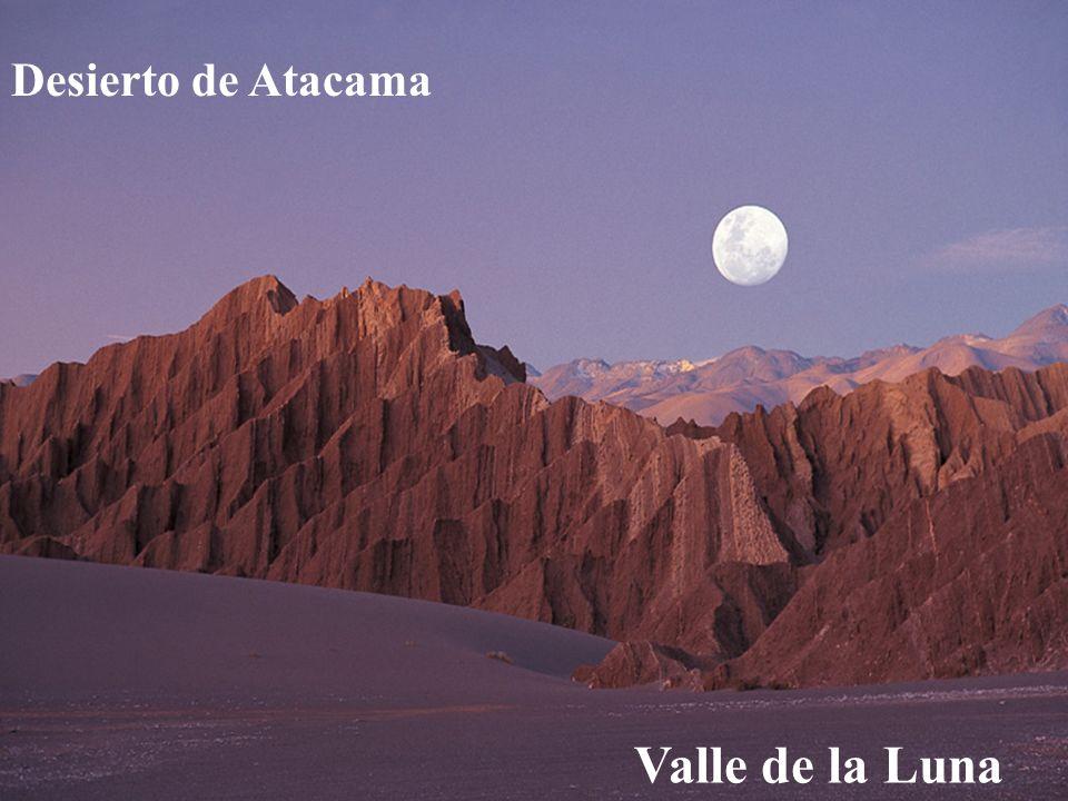 Desierto de Atacama Chile Valle de la Luna