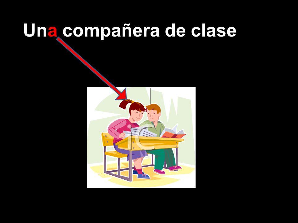 Una compañera de clase