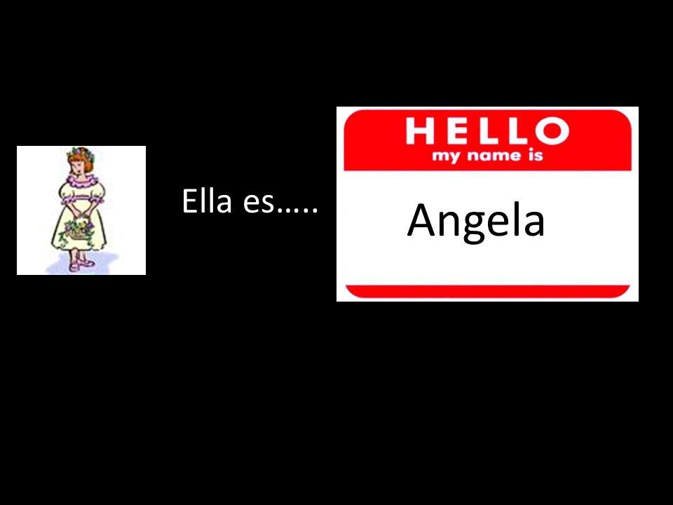 ¿ Ella es….. Angela Ricardo