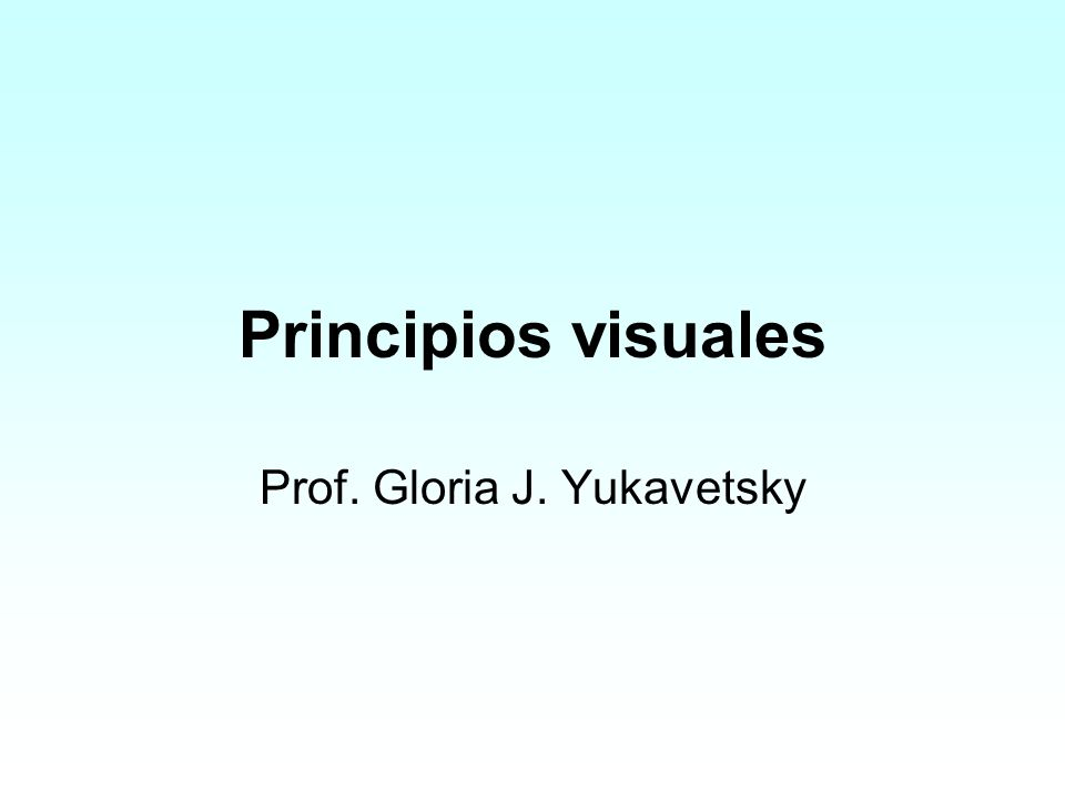 Prof. Gloria J. Yukavetsky