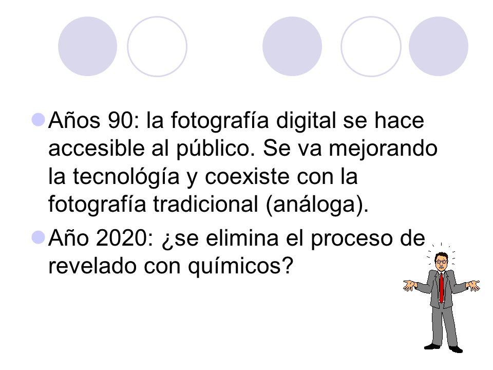 Años 90: la fotografía digital se hace accesible al público
